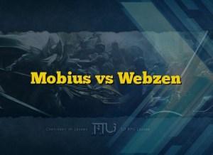 Mobius vs Webzen