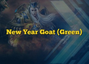 New Year Goat (Green)