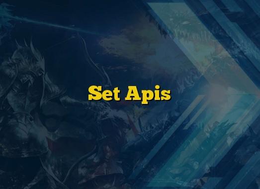 Set Apis