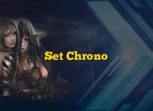 Set Chrono