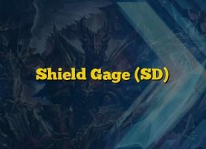 Shield Gage (SD)