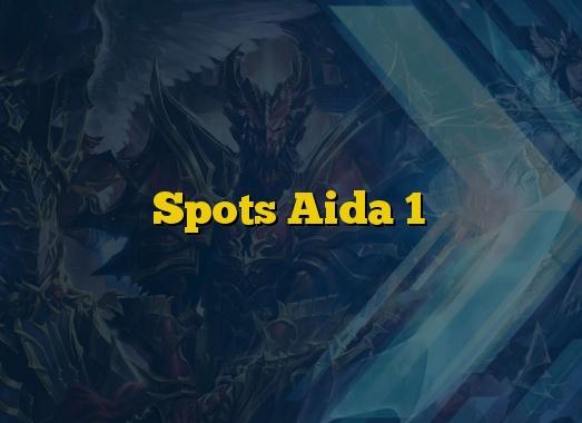 Spots Aida 1