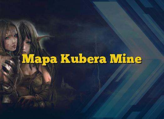 Mapa Kubera Mine