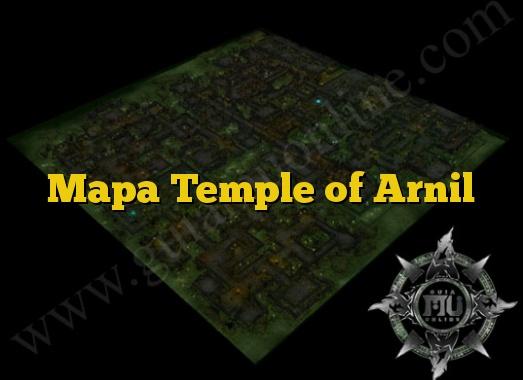Mapa Temple of Arnil
