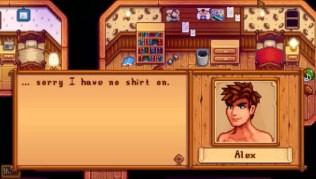 como enamorar a Alex en stardew Valley y horarios