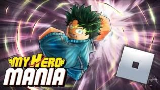 Roblox My Hero Mania - Lista de Códigos (Mayo 2021)