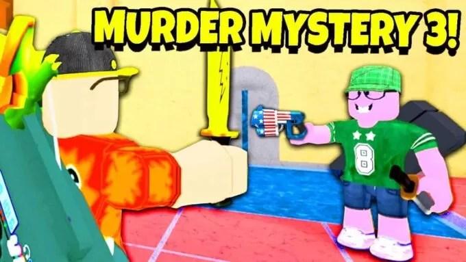 Roblox Murder Mystery 3 – Lista de Códigos Junio 2021