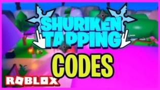 Roblox Shuriken Tapping - Lista de Códigos Junio 2021
