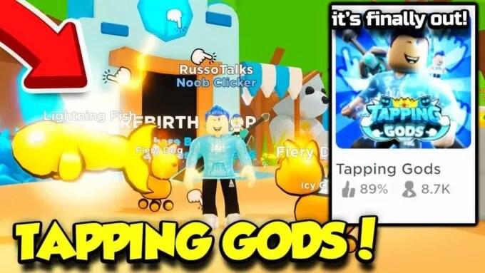 Roblox Tapping Gods - Lista de Códigos Junio 2021
