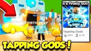 Roblox Tapping Gods - Lista de Códigos Mayo 2021