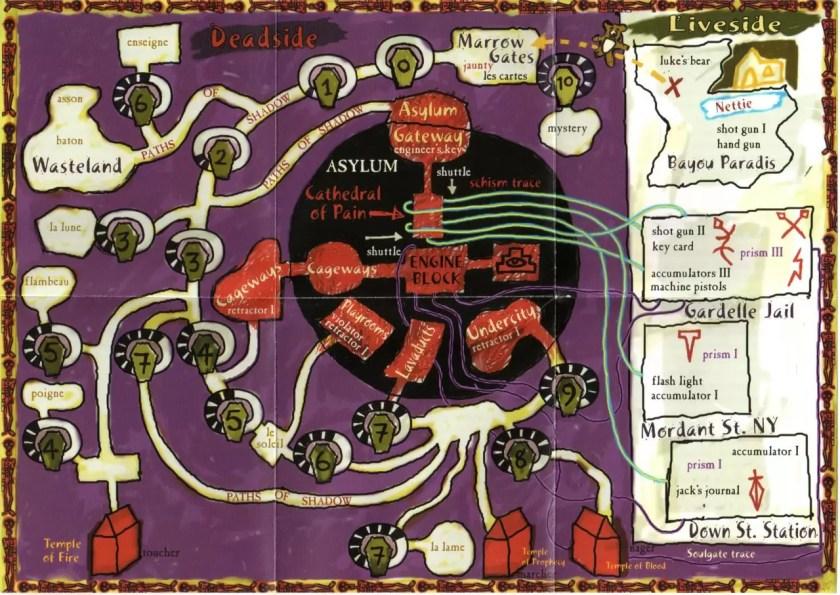 Mapa del mundo completo remasterizado de Shadow Man