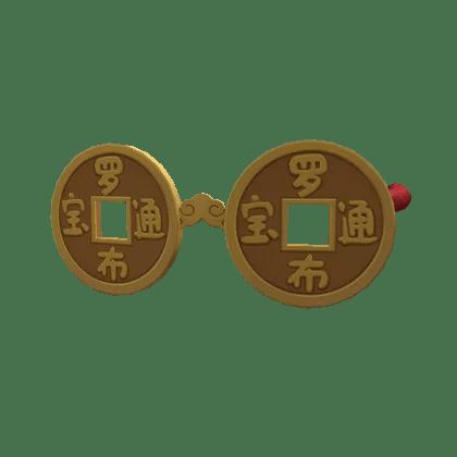 Gafas del adinerado de Luobu