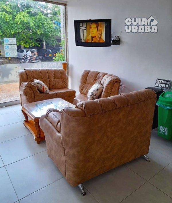 Apartahotel en Apartadó avenida las margaritas muebles de habitaciones