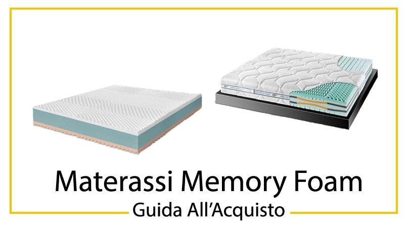 I 10 Migliori Materassi Memory Foam  Guida AllAcquisto