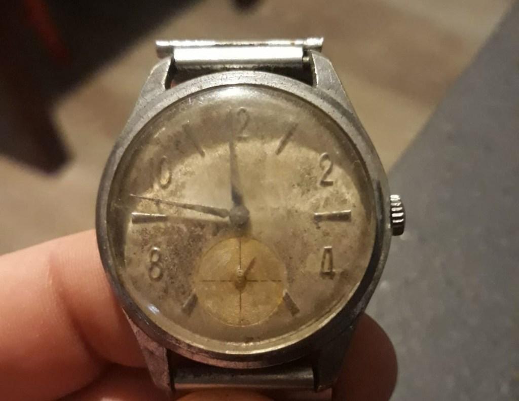 L'orologio trovato in cantina da un giornalista della redazione di GuidaLusso.it
