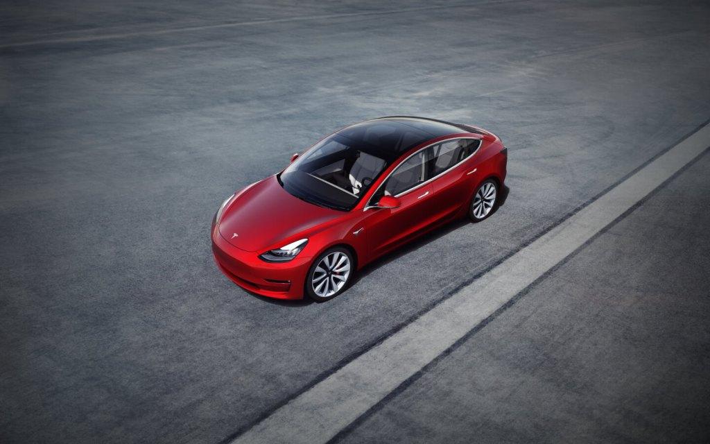 La Model 3 di Tesla