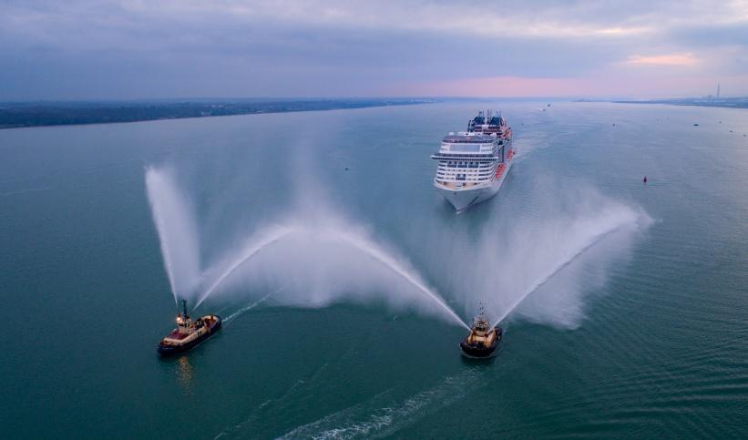 La nuova nave Msc Bellissima