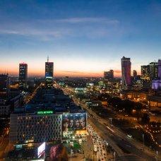 Varsavia è una grande metropoli di quasi 2 milioni di abitanti.