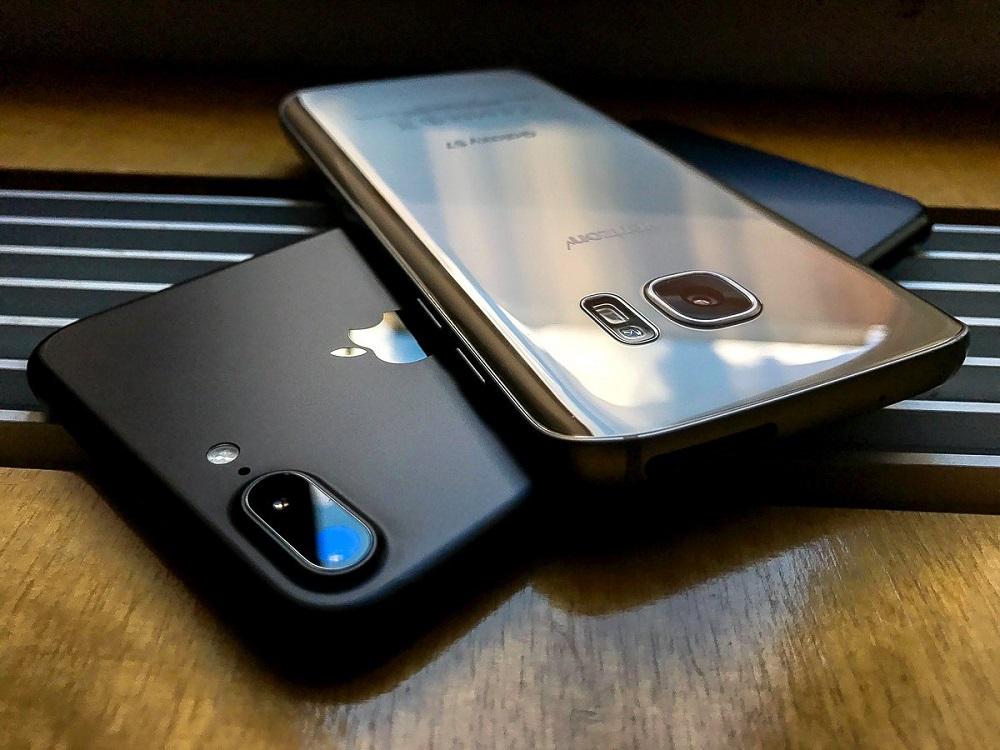 Kameralar iPhone 7 ve Samsung Galaxy S7'nin karşılaştırılması