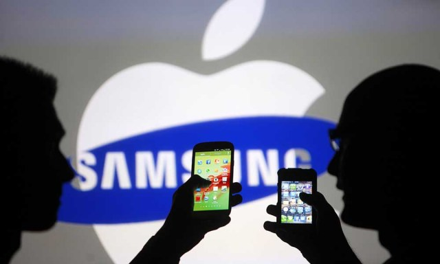 Apple et Samsung