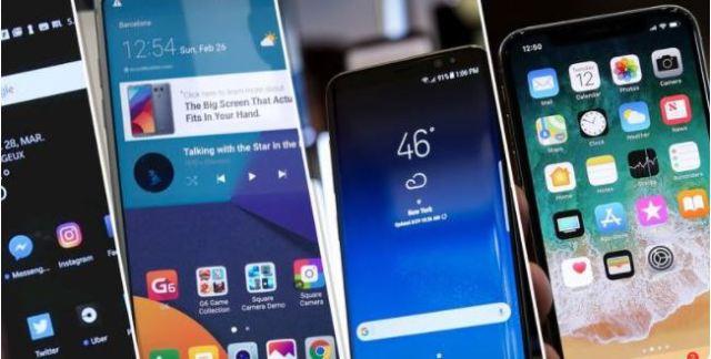 smartphones 2018