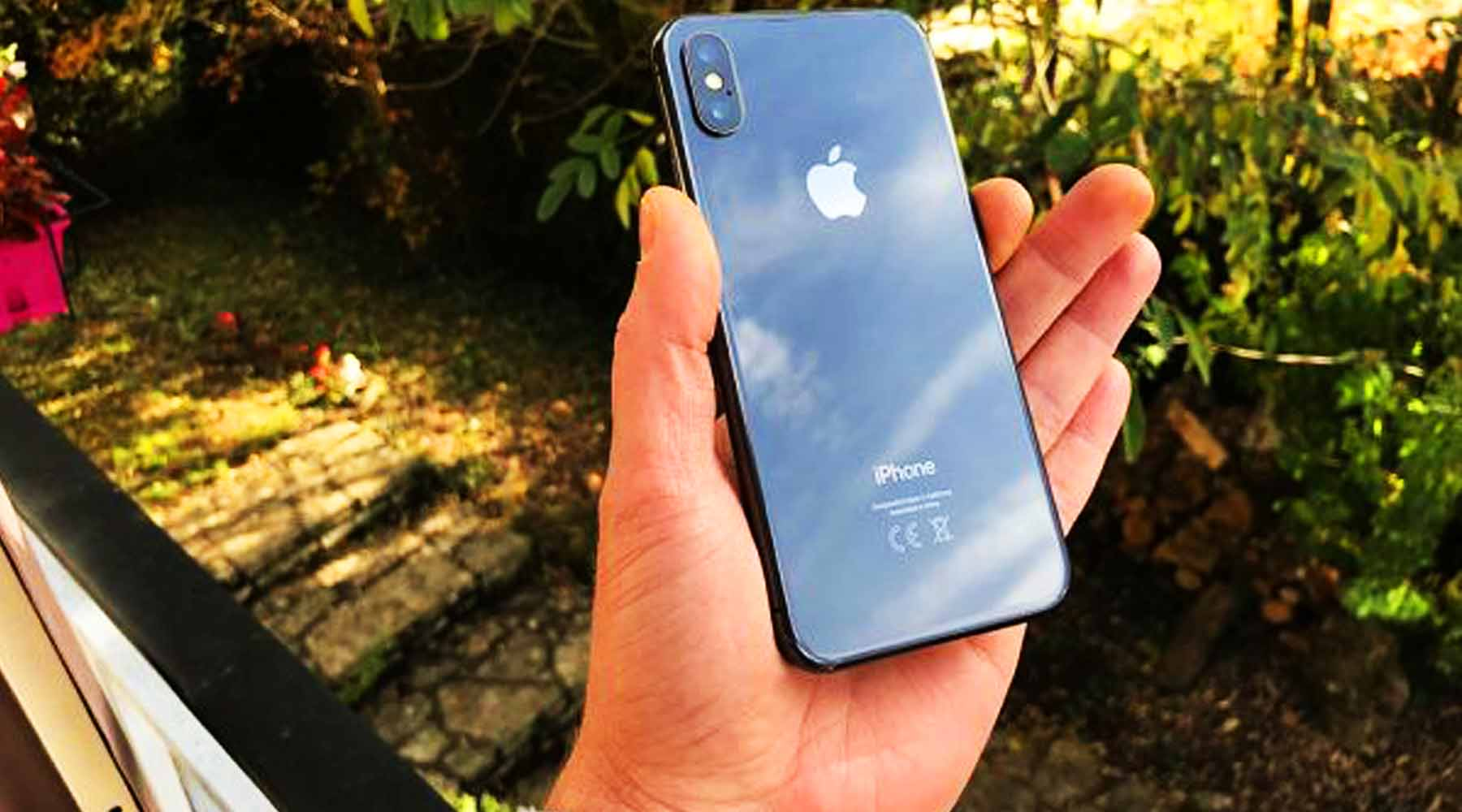 Apple iPhone X gris