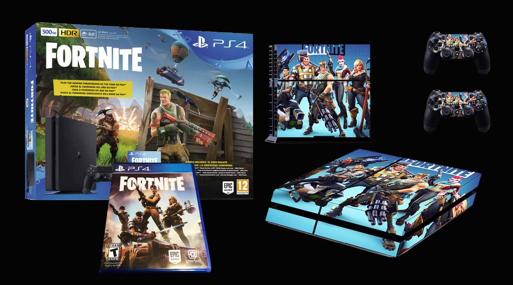PS4 Slim Fortnite