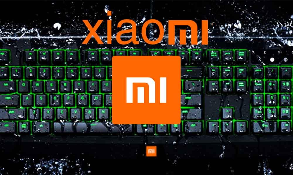 clavier gaming Xiaomi