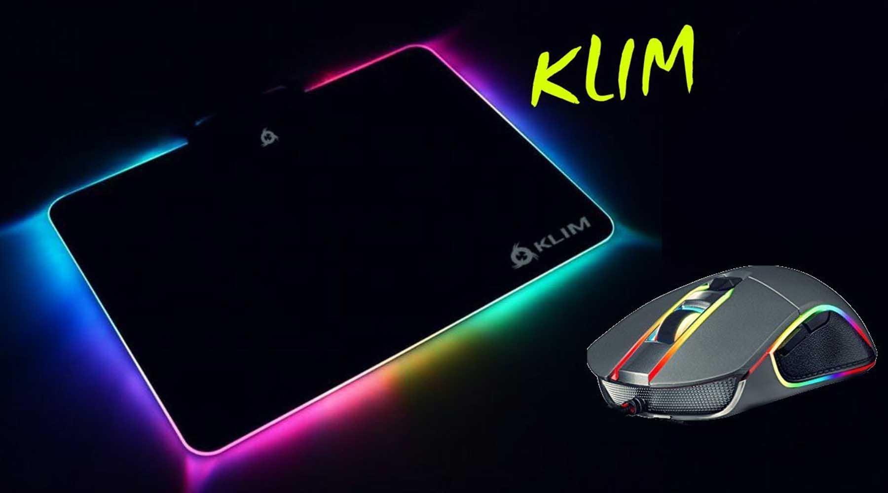 tapis de souris gaming KLIM