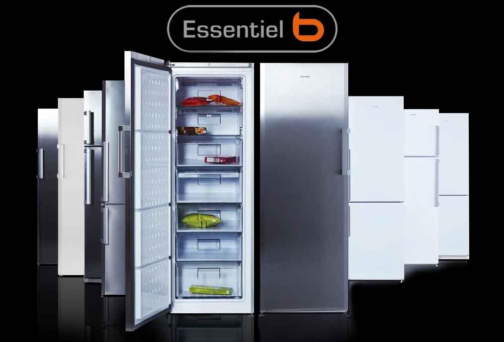 congélateur armoire Essentielb Ecav185-60B1