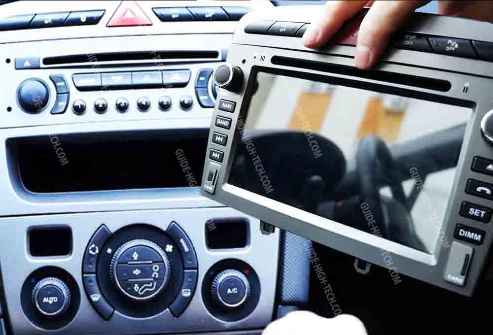 installation autoradio GPS Android