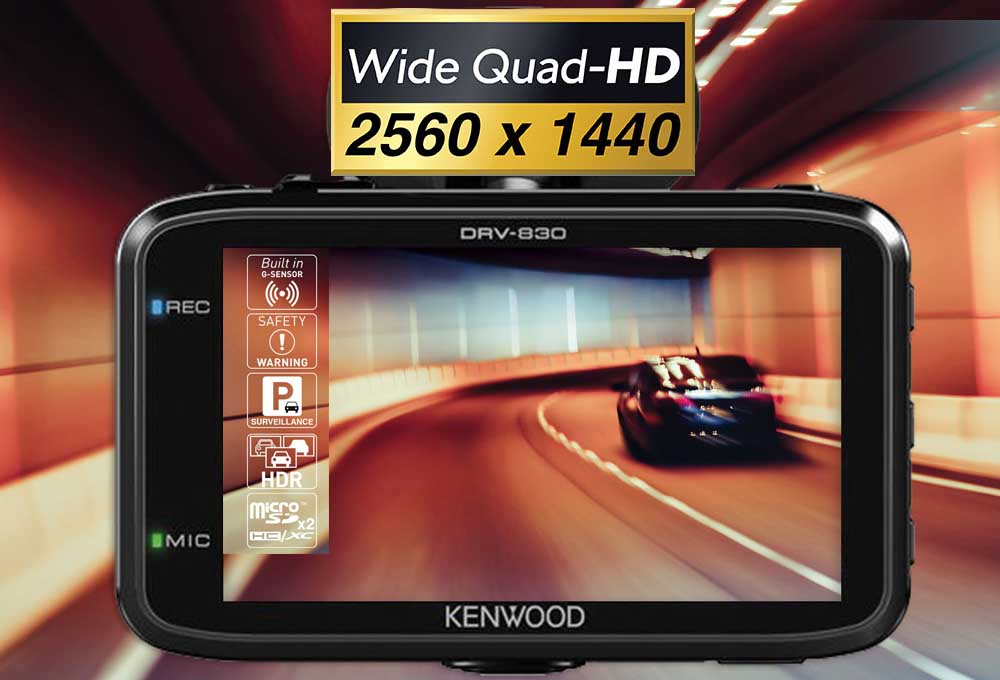 Dashcam Kenwood DRV 830