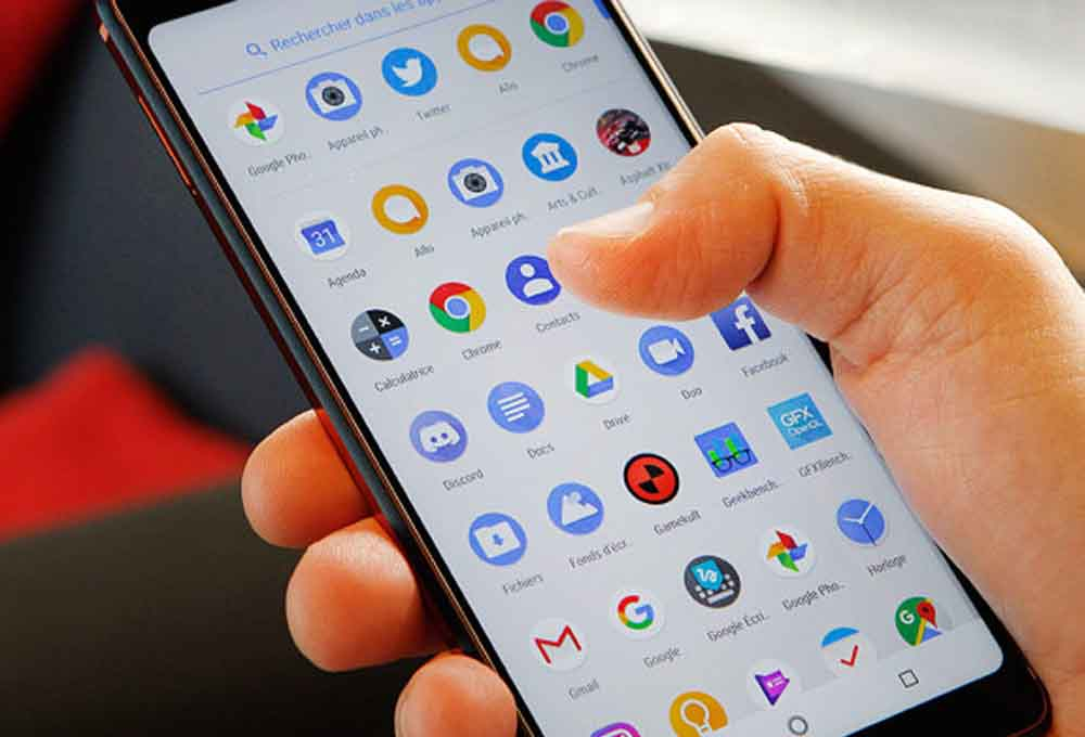 Smartphone sous Android