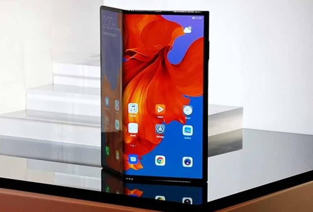 écrans pliables Smartphones 2019