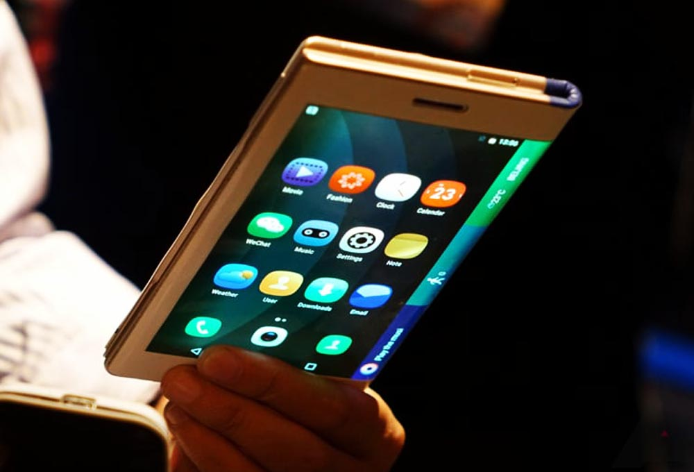 Smartphone pliable LG