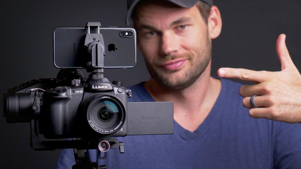 transformer un iPhone en caméra