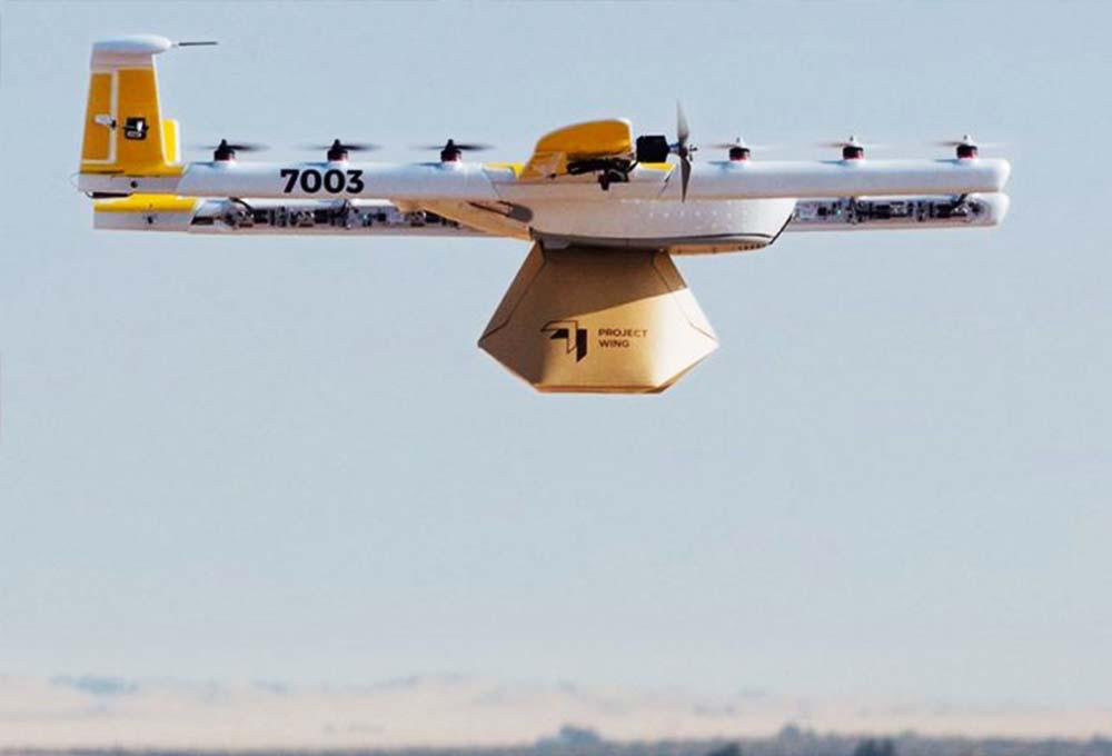 drone livreur Wing