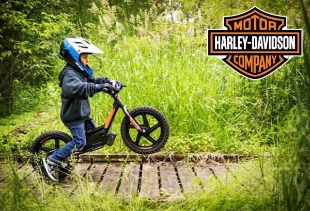 Vélos électriques pour enfant Harley-Davidson