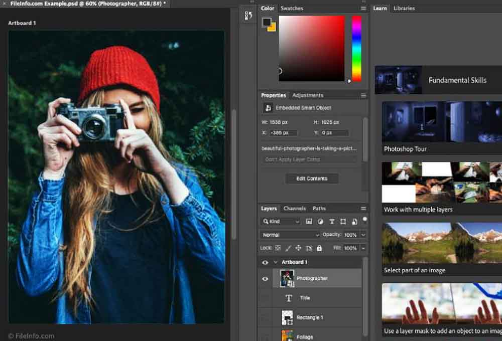 logiciel de retouche photo