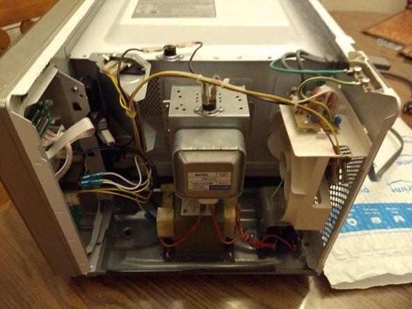 sharp microwave door switch replacement