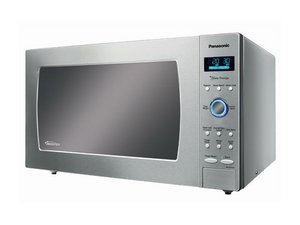 fan keeps going after microwave stops