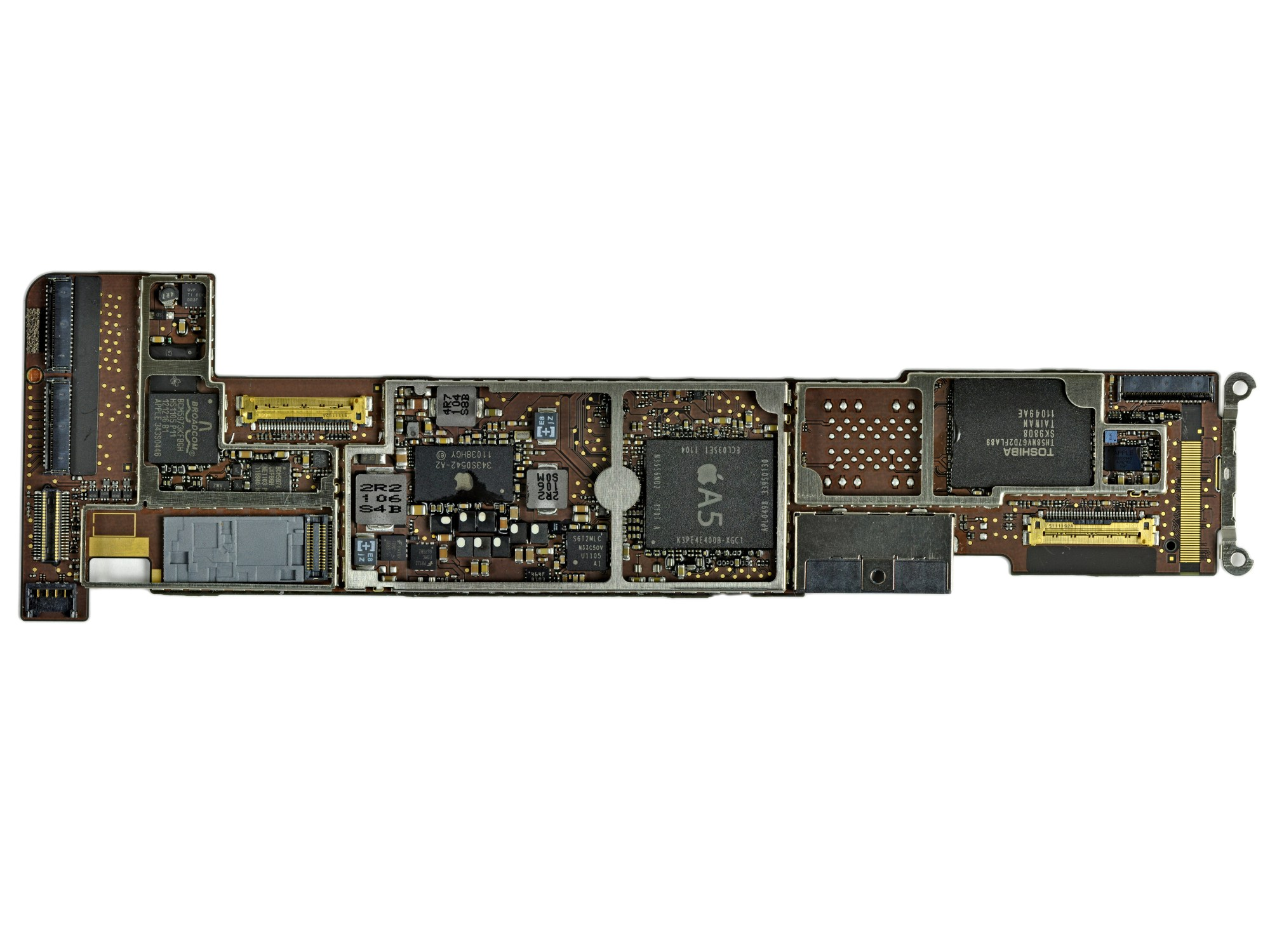 hight resolution of ipad 2 wi fi emc 2415 teardown ifixit ipad 2 logic board replacement ipad 2 logic board diagram