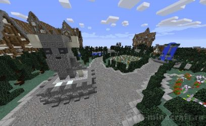 Download Small Medieval City Map for Minecraft 1 12 2 for free