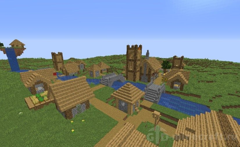 Download Village Defence Map for Minecraft 1.14.4/1.14 for free
