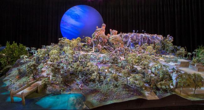 maquette avatar parc