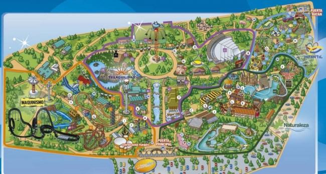 Plan Parque Atracciones Madrid