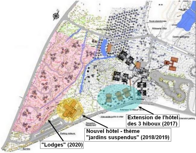 parc astérix projet hotel 2017 - 2020