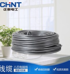 get quotations chint wire and cable eight core computer cable wire and cable utp cable unshielded copper internet [ 1000 x 1000 Pixel ]