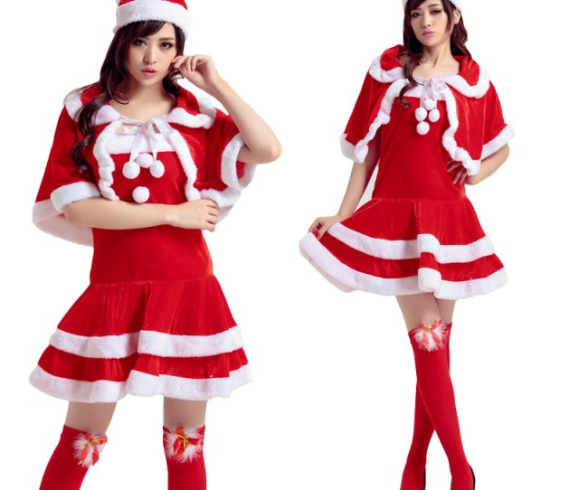 Get Quotations  C B Christmas Costumes Bunny Shengdan Dance Party Costumes Loaded Ds Costumes Christmas Hats For The Elderly Table