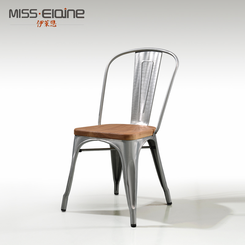 cafe chairs metal stackable sale china tolix chair shopping guide at get quotations elaine iron wood bar stool creative fashion casual dining